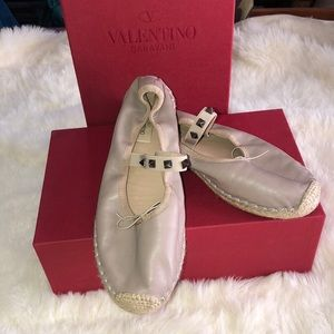 Valentino ballerina shoes . 💓